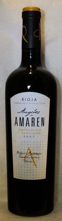 ANGELES DE AMAREN Tempranillo y Graciano 2007