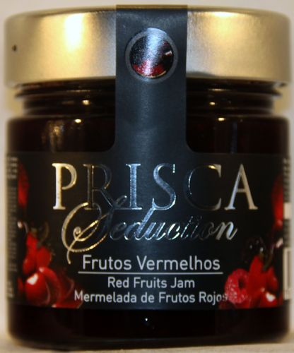 PRISCA SEDUCTION CONFITURA DE FRUTOS ROJOS BOTE 250 g.
