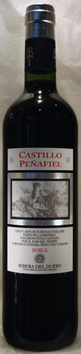 CASTILLO PEÑAFIEL ROBLE 2015