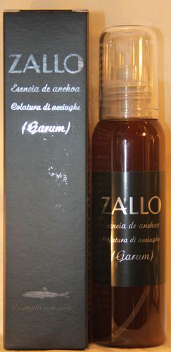 ZALLO ESENCIA ANCHOA (GARUM) BOTE 100 ml.